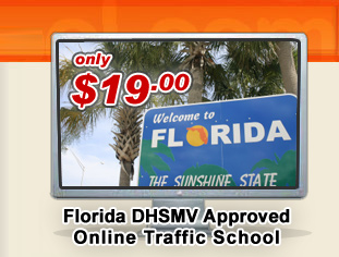 Florida Traffic School - only $19.00